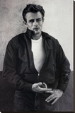 James Dean Pointing Movie Poster Print Stretched Canvas Print