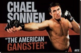 UFC - Chael Sonnen Sports Poster Stretched Canvas Print
