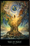Tree Of Peace Stretched Canvas Print by Josephine Wall