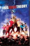 Big Bang Theory - Season 5 Maxi poster Stretched Canvas Print