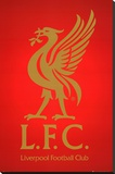 Liverpool FC Club Crest Stretched Canvas Print