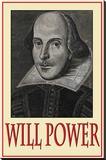 Will Power Stretched Canvas Print