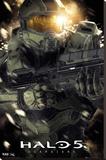 Halo 5 Master Chief Lærredstryk på blindramme