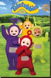 Teletubbies- Group Cheer Sträckt Canvastryck