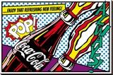 Coca-Cola - Pop! Płótno naciągnięte na blejtram - reprodukcja