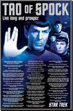 Star Trek- Tao Of Spock Stretched Canvas Print