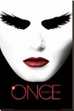 Once Upon A Time- Black Swan Stretched Canvas Print