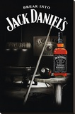 Jack Daniel's Old 7 Stretched Canvas Print