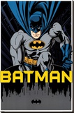 Batman - City Stretched Canvas Print