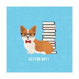 Good Dogs Corgi Bright Prints by Moira Hershey