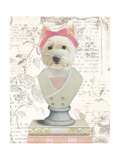 Canine Couture Newsprint II Prints by Emily Adams