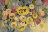 Yellow Floral Duo III Prints by Silvia Vassileva