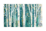 Birches in Spring Poster by Julia Purinton