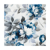 Scent of Roses Indigo II Prints by Wild Apple Portfolio