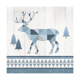 Nordic Geo Lodge Deer IV Posters by Wild Apple Portfolio