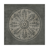 Rosette VIII Gray Prints by Wild Apple Portfolio