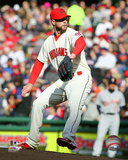 Corey Kluber 2015 Action Photo