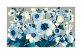 Anemones Japonaises I Print by Shirley Novak