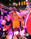 Kobe Bryant plays his final NBA game-Staples Center- April 13, 2016 Photo