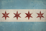 Chicago Flag Posters by Ryan Fowler