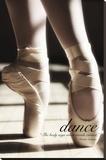 Dansen Lærredstryk på blindramme af Rick Lord