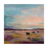Buffalo Under Big Sky Prints by Marilyn Hageman