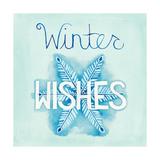 Snowflake Sayings II Poster by Elyse DeNeige