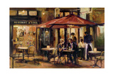 Bistrot a Vins Warm Prints by Marilyn Hageman