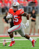 Ezekiel Elliott Ohio State Buckeyes 2015 Action Photo