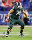 Jack Conklin Michigan State Spartans 2013 Action Photo