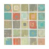 Sea Glass Mosaic Tile IV Prints by Silvia Vassileva
