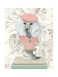 Canine Couture Newsprint IV Posters by Emily Adams