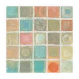 Sea Glass Mosaic Tile III Posters by Silvia Vassileva