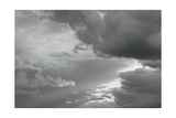 Luminous Clouds I BW Posters by Linda Omelianchuk