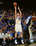 Klay Thompson during the Golden State Warriors NBA record 73rd win of the season- April 13, 2016 Photo