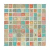 Sea Glass Mosaic Prints by Silvia Vassileva