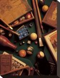 Billiard Opspændt lærredstryk af Michael Harrison
