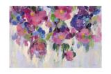 Pink and Blue I Crop Art by Silvia Vassileva