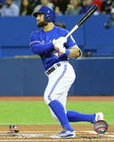 Kevin Pillar 2016 Action Photo