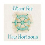 New Horizons I Words Prints by Elyse DeNeige
