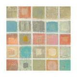 Sea Glass Mosaic Tile I Posters by Silvia Vassileva