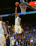 Harrison Barnes during the Golden State Warriors NBA record 73rd win of the season- April 13, 2016 Photo