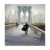 Bridge to NY v.2 Print by Julia Purinton