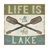 By the Lake I Print by Pela Studio