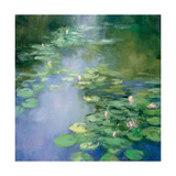 Blue Lily II Prints by Julia Purinton