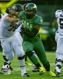 DeForest Buckner University of Oregon Ducks 2014 Action Photo
