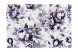 Scent of Roses Plum Prints by Wild Apple Portfolio