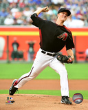 Zack Greinke 2016 Action Photo