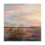 Mustangs Under Big Sky Prints by Marilyn Hageman
