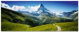 Matterhorn II Poster af Juan Pablo De Miguel